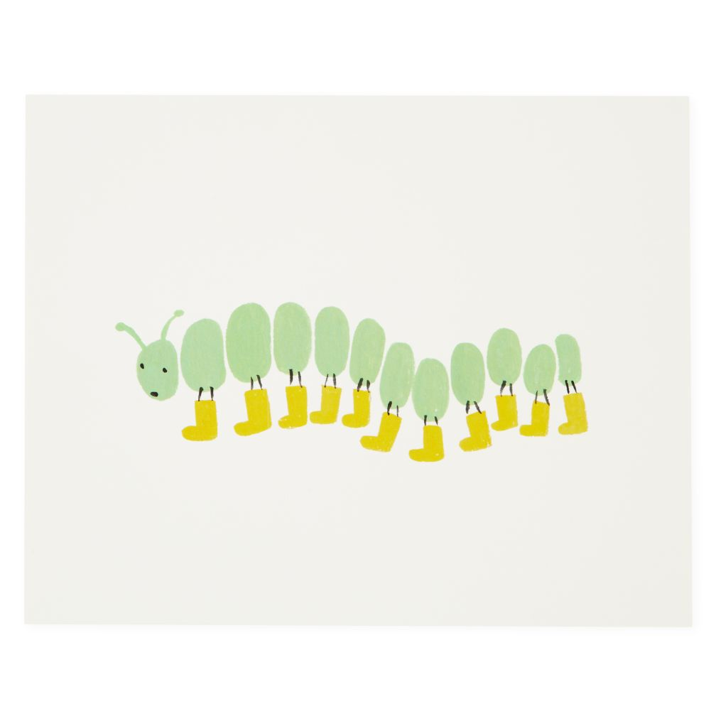 Bug Prints (Caterpillar)