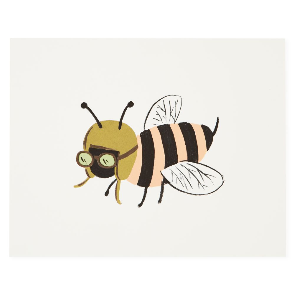 Bee Bug Print