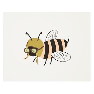 Bee Bug Print