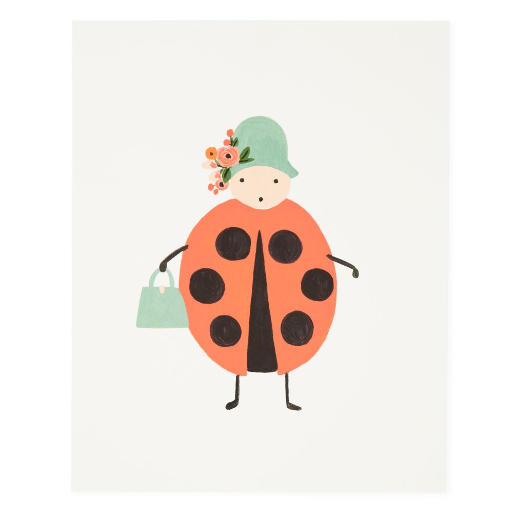 Ladybug Bug Print