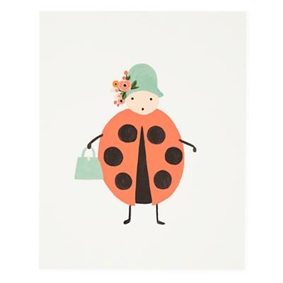Ladybug Bug Print