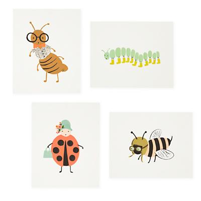 Bug Prints (Set of 4)
