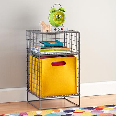 On the Grid Nightstand (Grey)