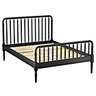 Full Black Jenny Lind Bed