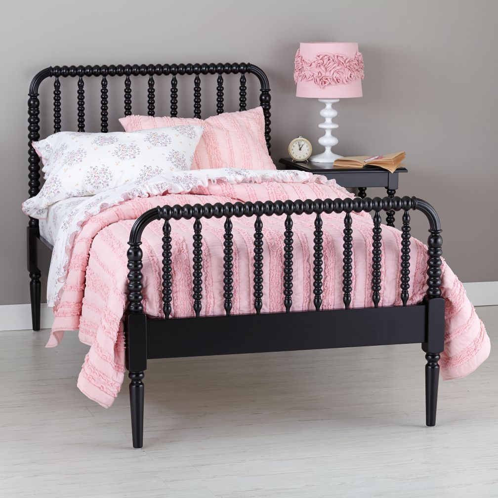 Jenny Lind Bed (Black)