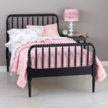 Full Jenny Lind Bed (Black)