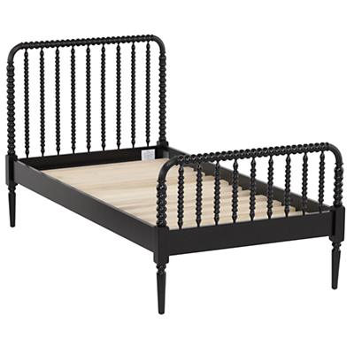 Jenny Lind Twin Bed (Black)