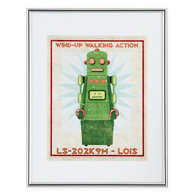 Retrobot Wall Art (Green)
