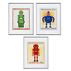 Retrobot Wall Art Set of 3A Savings of $20