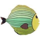 Fish Throw Pillow (Green)