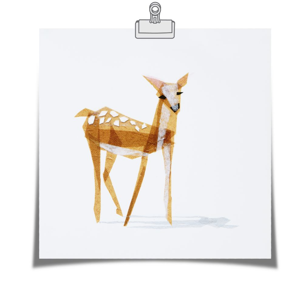 Edie Fawn Wall Art