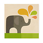 Personalized Elephant Wall Plaque