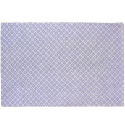 5 x 8' Lavender Diamonds Rug