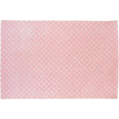 5 x 8' Lt. Pink Diamonds Rug
