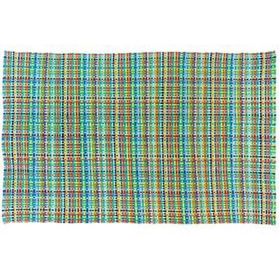4 x 6' Hot Spot Rug (Blue)