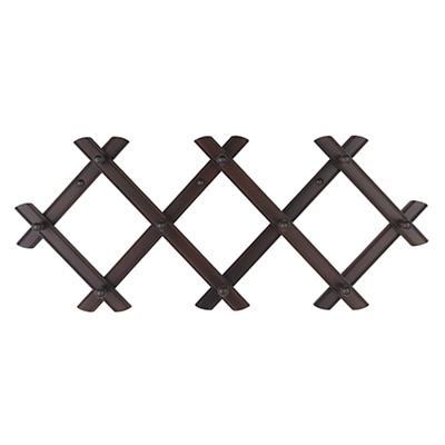 Accordian Peg Rack (Espresso)
