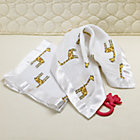 2 Muslin Giraffe Security Blankets
