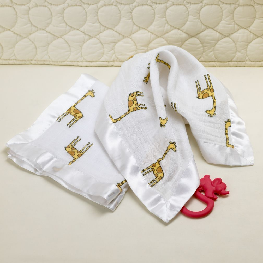 Both My Giraffe Blankies (Set of 2)