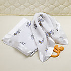 2 Muslin Monkey Security Blankets