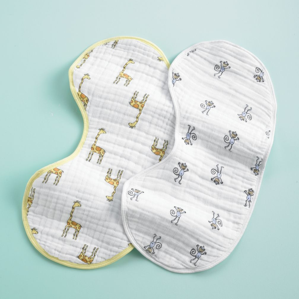 Baby Bibs & Burp Cloths | The Land of Nod