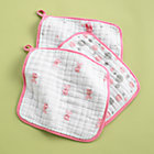 Pink Washcloths (Set of 3)