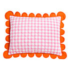 Pink Gingham Sham