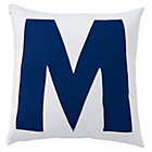 ABC &amp;quot;M&amp;quot; Pillow