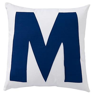 ABC Throw Pillows (Letter M)