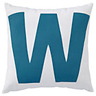 ABC &amp;quot;W&amp;quot; Pillow