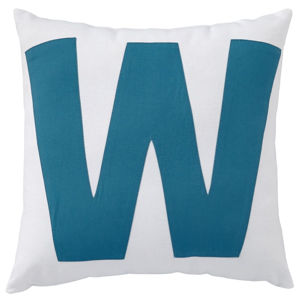 ABC &quot;W&quot; Pillow