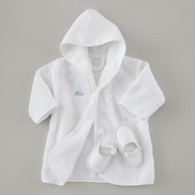 Apparel_Baby_Robe_Set_WH_BL