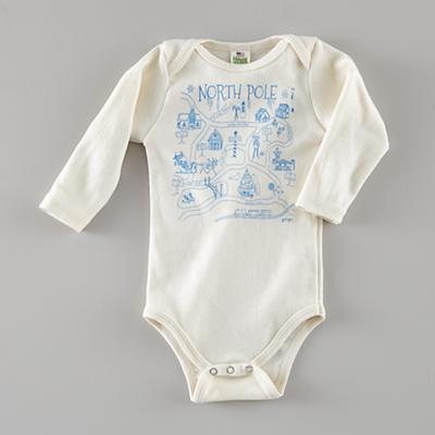 3-6 mos. Maptote One-Piece (North Pole)