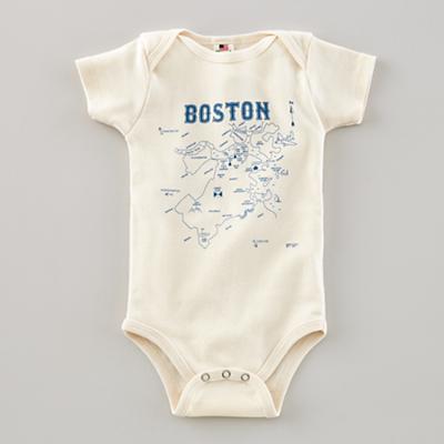 6-12 mos. Maptote One-Piece (Boston)