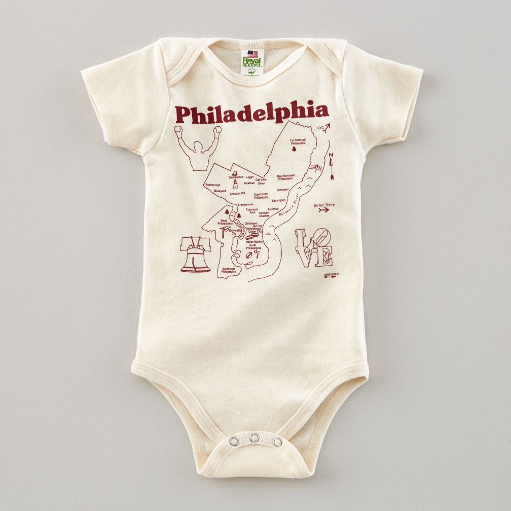 Maptote One-Piece (Philly)