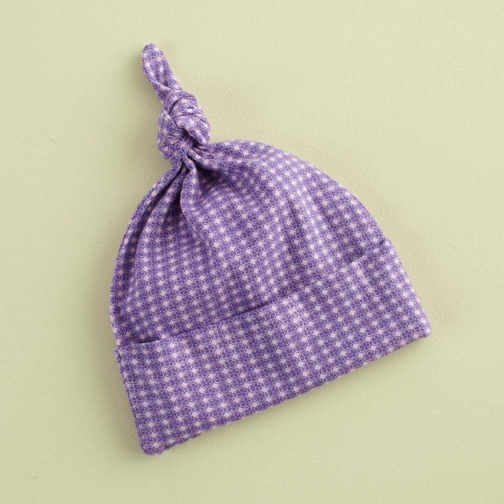 Purple Deco Head Full of Warm Thoughts Hat