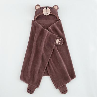How Do You Zoo Hooded Towel (Bear)