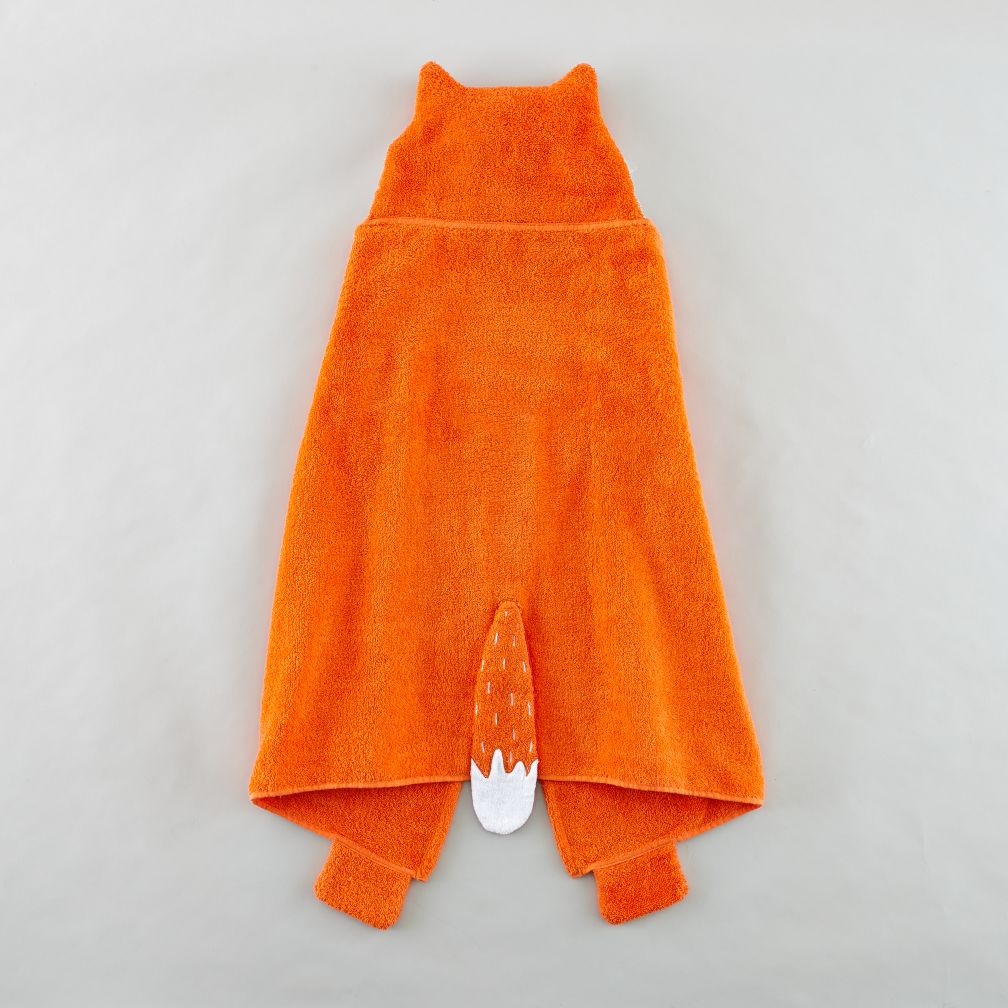 How Do You Zoo Hooded Towel (Fox)