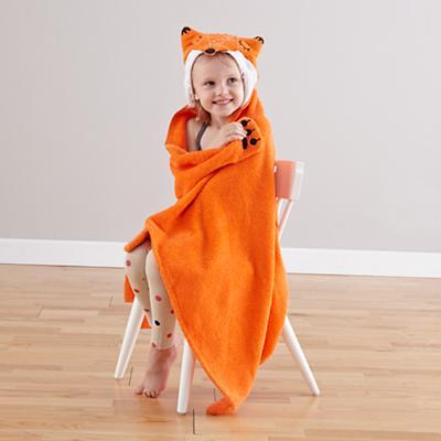 How Do You Zoo Hooded Towel (Fox)