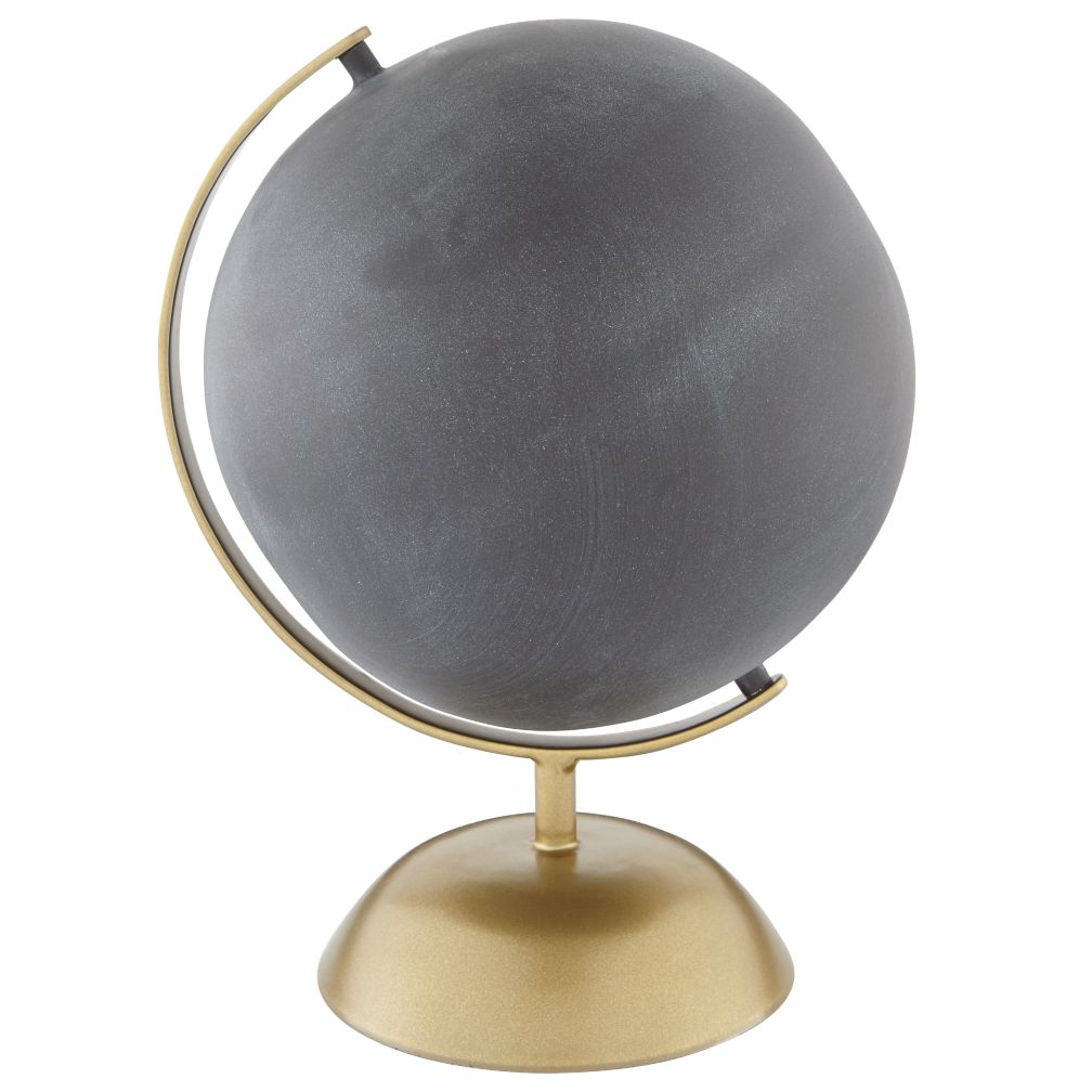 Chalk Around the World Globe (Gold)