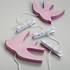 Pink Birds Crafty Art Clips