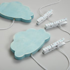 Aqua Clouds Crafty Art Clips