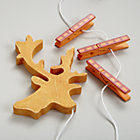 Orange Deer Crafty Art Clips