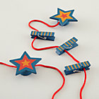 Blue Red Star Fine Art Clips