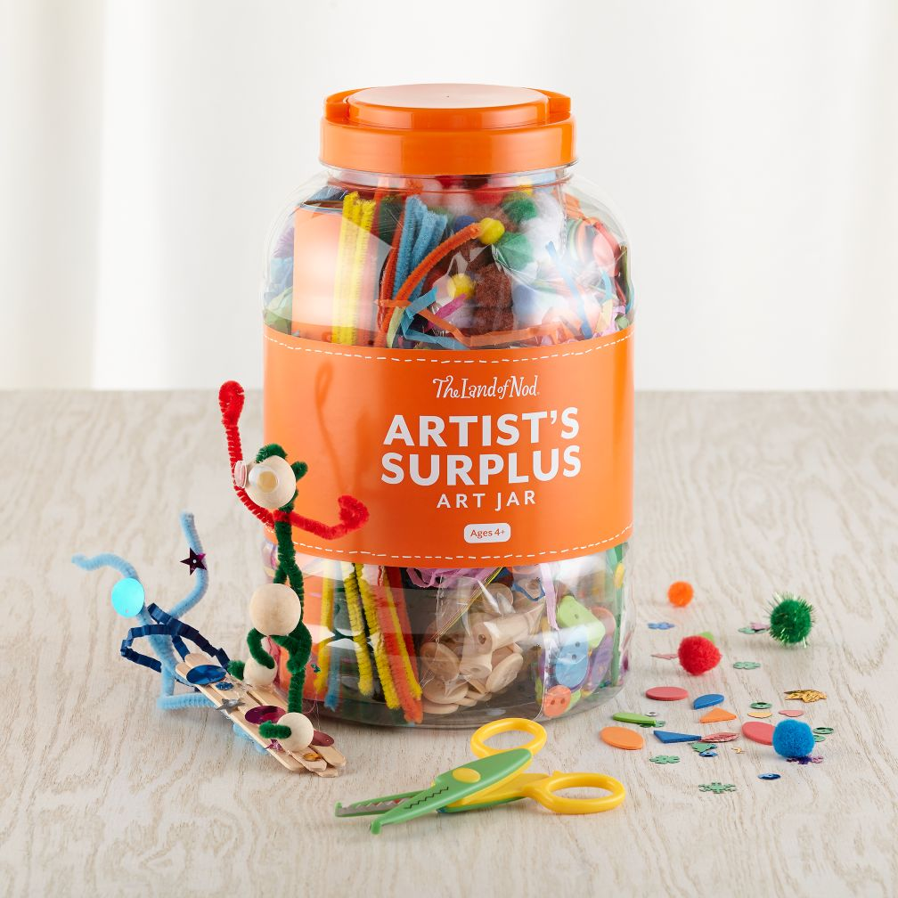 Artist&#39;s Surplus Art Jar