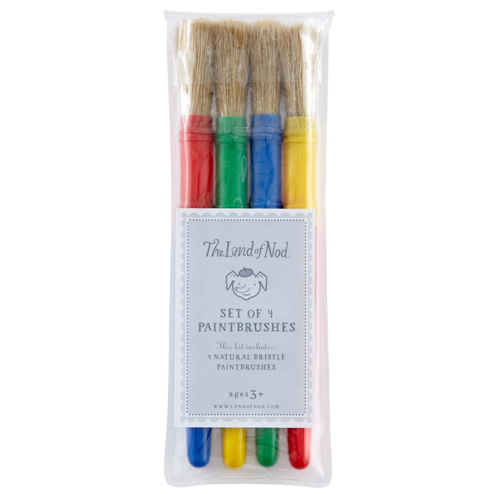 Paint Brushes (Set of 4)