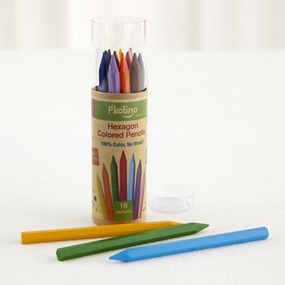 Hexagon Color Pencil (Set of 16)