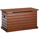 Chocolate Beadboard Toy Chest