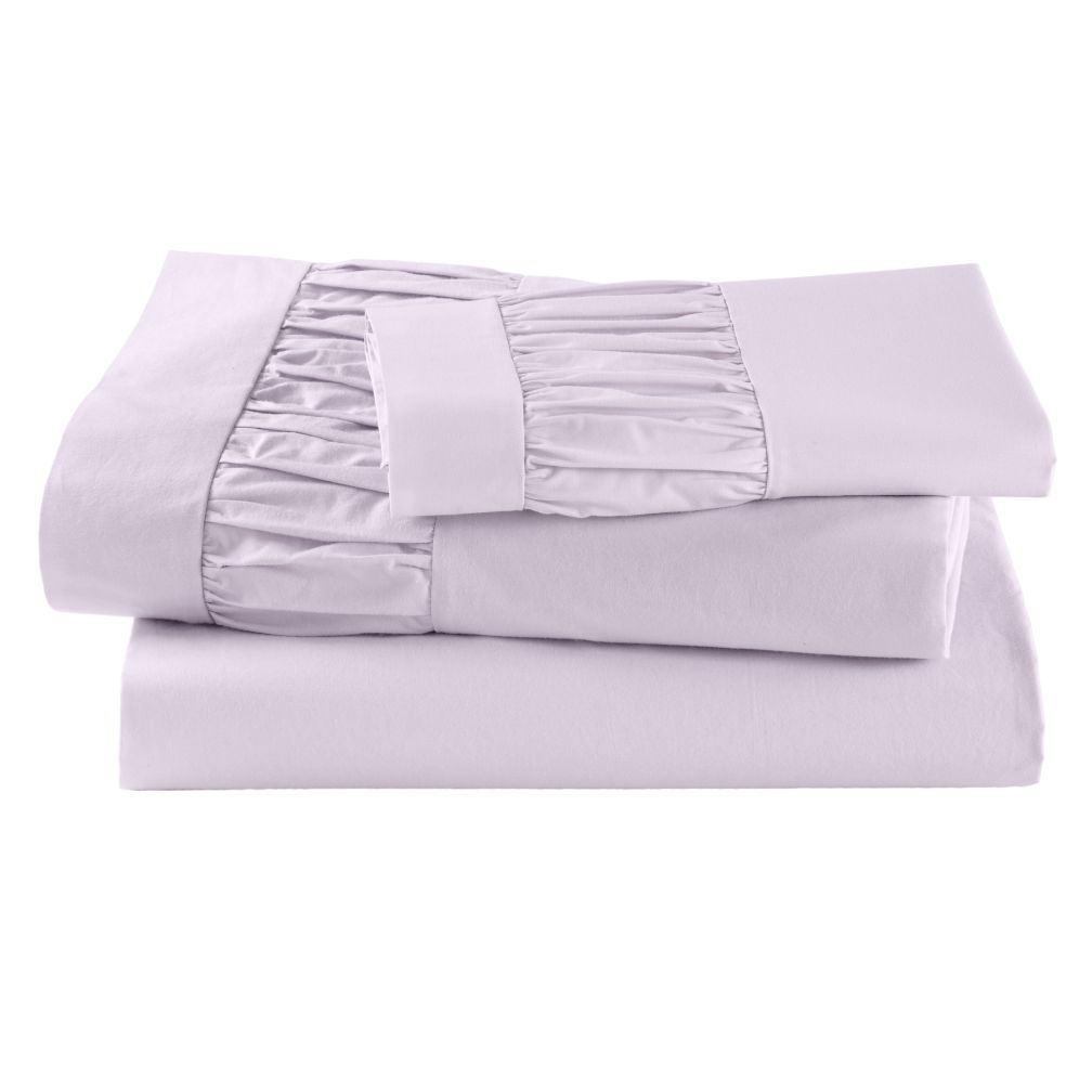 Thrilled to be Frilled Lavender Sheet Set (Twin)
