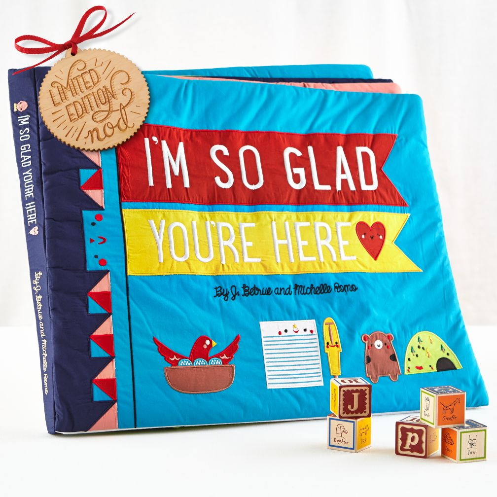 I'm So Glad You're Here Giant Book (Ltd. Edition)