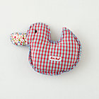 Lucky Duck Cotton Rattle